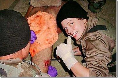 Abu Ghraib soldat