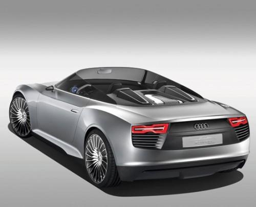 Audi e-tron Spyder cabriolet