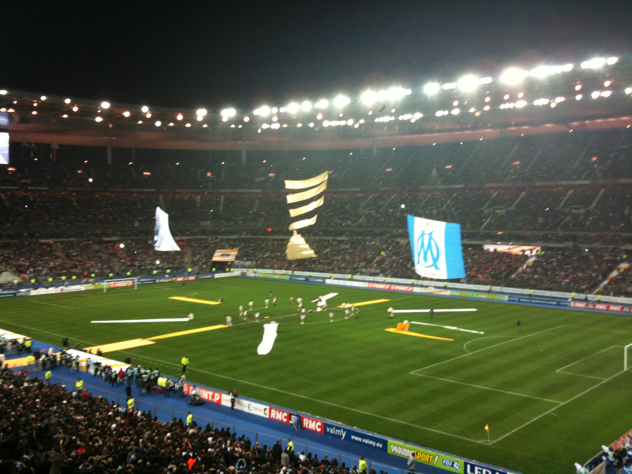 Photos ambiance stade de france marseille bordeaux coupe de la ligue - Stade de france coupe de la ligue ...