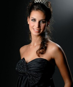 Miss Bearn Gascagone 2009  Bories Marine  candidate Miss France 2010