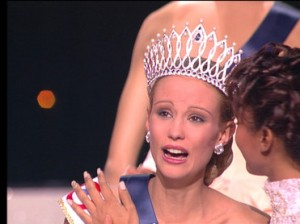 Miss France 2001 Elodie Gossuin