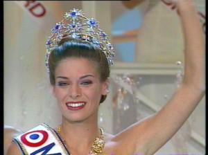 Miss france 1996 Laure Belleville