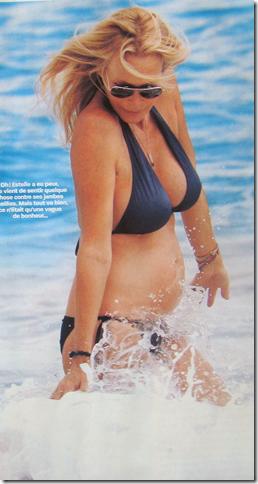 estelle lefebure bikini enceinte