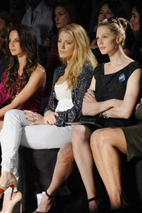 fashion week Blake Lively