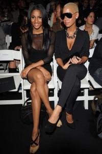 fashion week Ciara et Amber Rose