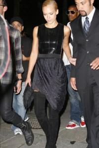 fashion week Jessica Alba
