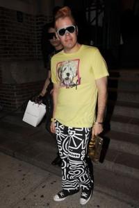fashion week Perez Hilton