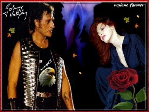 johnny hallyday mylene farmer