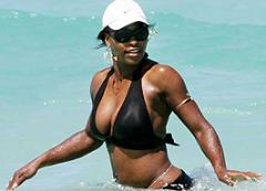 serena williams plage
