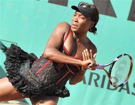 venus williams roland garros